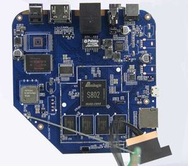 China SMT Printed Circuit Board Assembly Service Manufacturer For STB Set Top Box FR-4 Supplier