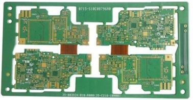 China 10 Layers Rigid Flex PCB For Car Audio Immersion Gold 1.32mm Thickness Supplier