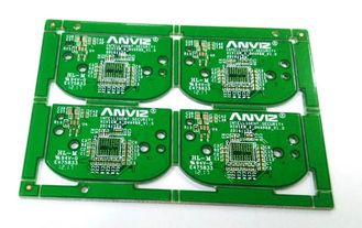 China 4 Layers 1OZ FR4 Green Soldermask CCTV Camera PCB  With ROHS REACH UL Supplier