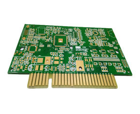 China 6 Layers Custom Printed Circuit Board High TG FR4 Multilayer PCB With Golden Finger Supplier