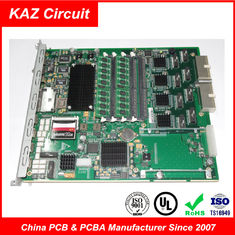 "China 4 layer FR4 TG150 1oz ENIG 1-2U""  Industrial PCB for Core switching module Board Supplier"