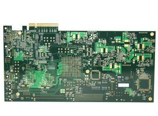 China 10 layers FR-4 ENIG High Tg PCB Circuit Board Manufacturing with golden finger Supplier
