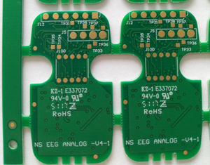 "China Durable Multilayer PCB Circuit Board 4 Layers FR-4 Tg150 1.0mm 1/H/H/1 Oz Copper ENIG 1U"" Supplier"
