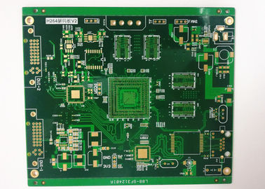 China Multilayer Power Supply PCB Rigid Printed Circuit Board ENIG 2 U' White Silkscreen Supplier