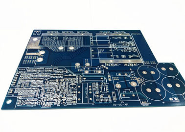 China Blue Soldermask Electronics Circuit Board , Flex PCB Prototype With Immersion Gold Supplier