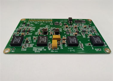 China Lead Free Printed Circuit Board Assembly 4 Layers 1OZ White Silkscreen ISO Approval Supplier