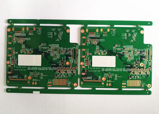 China 6L HDI Printed Rigid Flex Circuit Board Lead Free 0.1mm Dril Holes FR4 Material Supplier