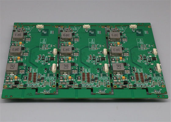Green Soldermask 8L HDI Printed Circuit Board Assembly