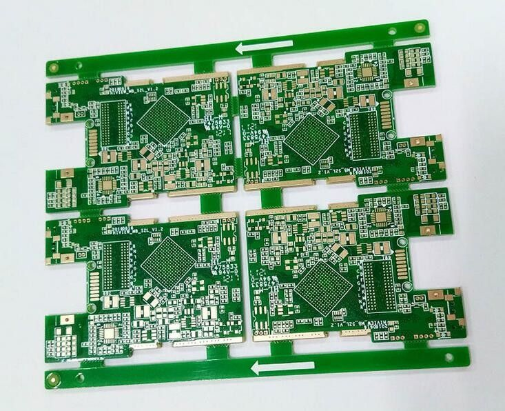 Professional 2-16Layers FR4 0 6-3 2MM ENIG/HASL CCTV Camera PCB With
