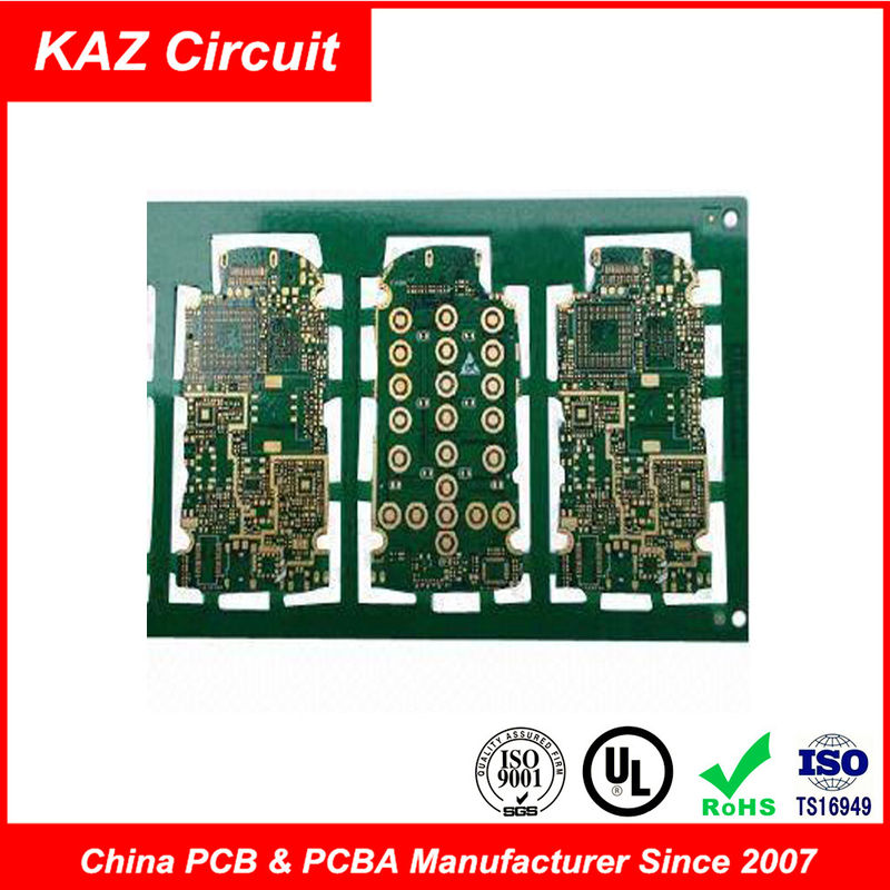 Professional HDI Printed Circuit Boards Blind Via PCB Burried Vias