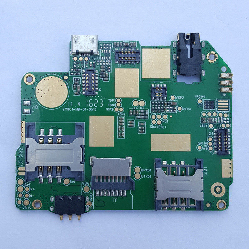 Fr4 Printed Circuit Board Assembly Android Smart Mobile Motherboard