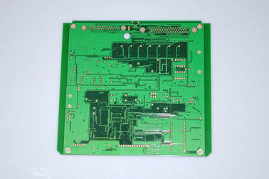 Double Sided Industrial PCB Board FR 4 ENIG Immersion Gold With Green Soldmask