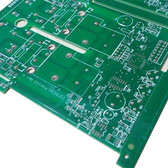 2 Layers FR-4 Power Supply PCB Shengyi S1000-2 HASL 3oz For Switching Power Supply