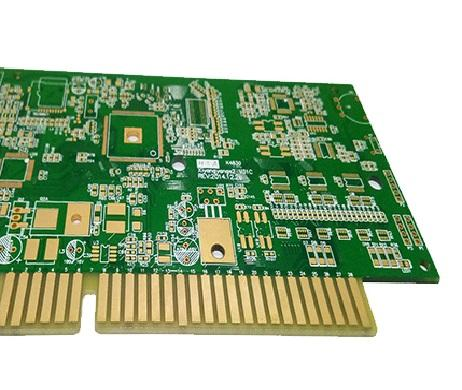 6 Layers Custom Printed Circuit Board High TG FR4 Multilayer PCB With Golden Finger