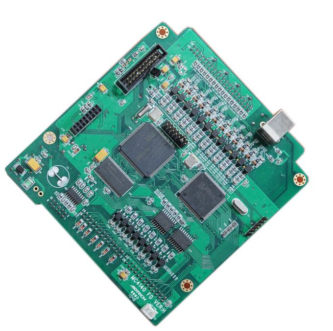 4 layers SMT PCB Assembly Service For Driver Control Board With HASL