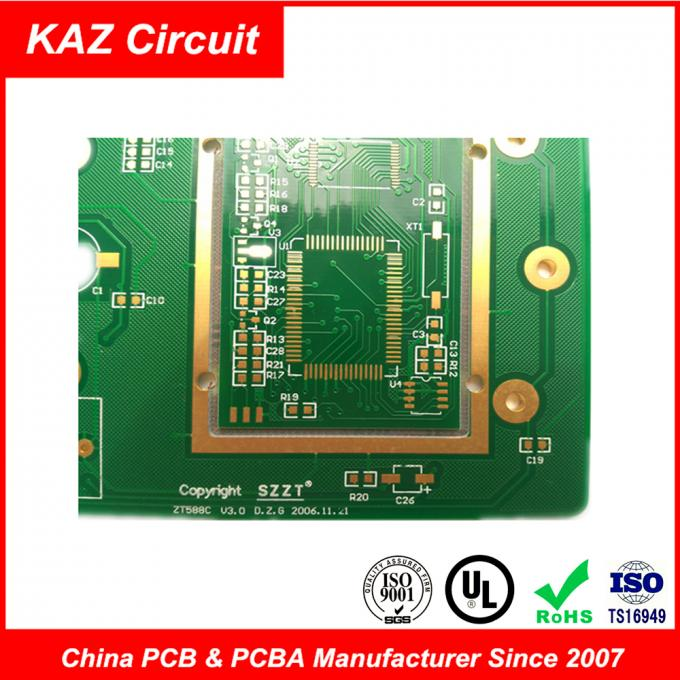 FR4 1oz ENIG  Electronic Printed Circuit Board Pcb 10 Layers 3.0mm