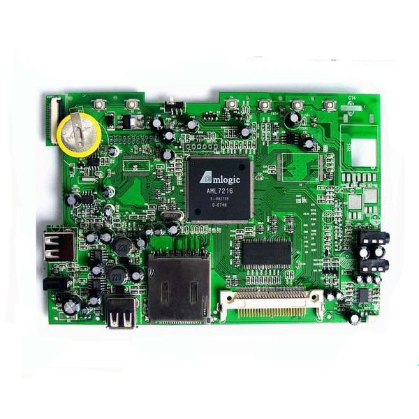 Car Gps Track PC Board Assembly / Fr4 Printed Circuit Board