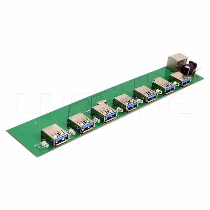 HDI Custom PCB Assembly Shengyi FR4 6L Immersion Gold with 1OZ