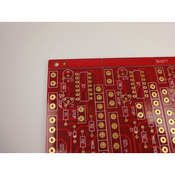 FR4 Tg180 6 layer Power Supply PCB Minimum Trace / Space 0.1mm