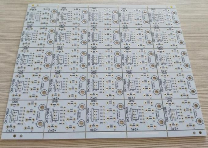 HASL Surface PCB Printed Circuit Board 1oz Copper Thickness White Soldmask