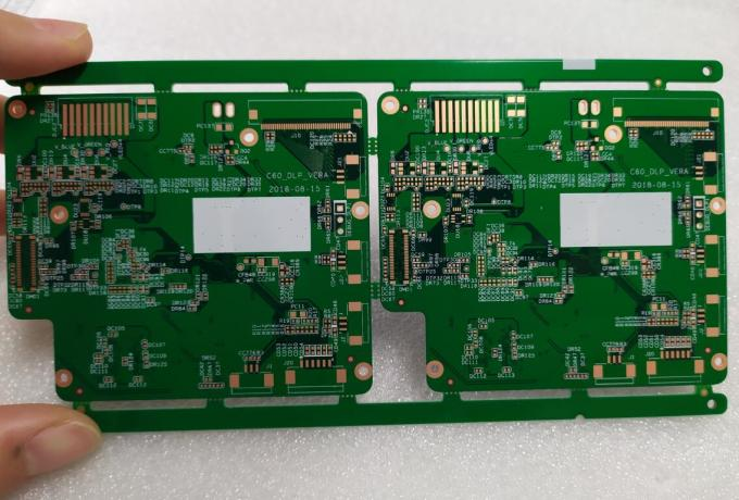 "IPC Class 2 Multilayer PCB Board 1.0mm Board Thickness With ENIG 1u"" Surface"