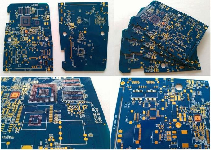 6 Layers FR-4 CCTV Camera PCB For  IP Camera Tester ENIG+OSP Surface