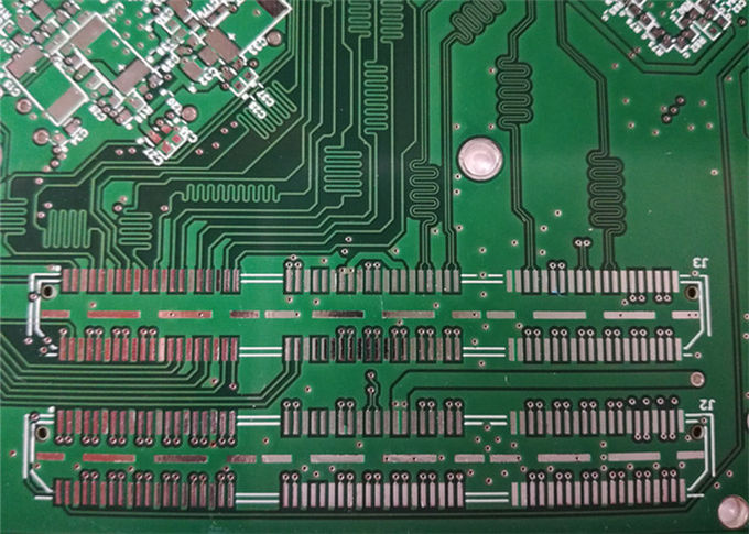 OEM 4 Layers Electronic Printed Board FR4 Material ENIG 1u' Gold Finger Solder Mask