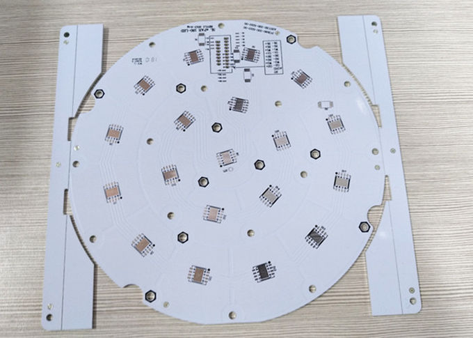 1 OZ Aluminum Led Printed Circuit Board , PCBA Lead Free Quick Turn PCB 1 Layer